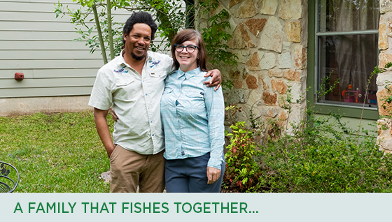 Story #4: A Family That Fishes Together...