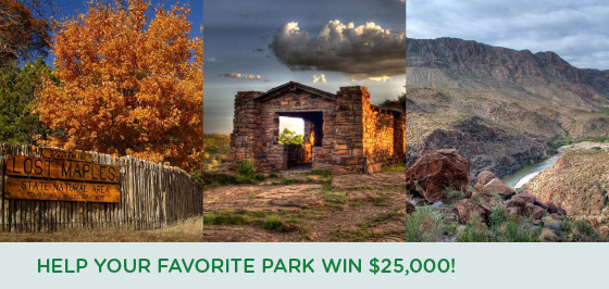 Help your favorite park win $25,000!