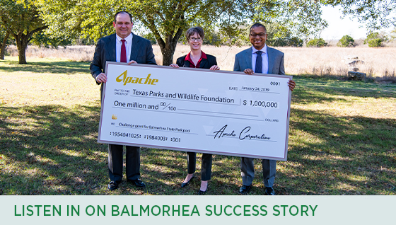 Story #3: Listen in on Balmorhea Success Story