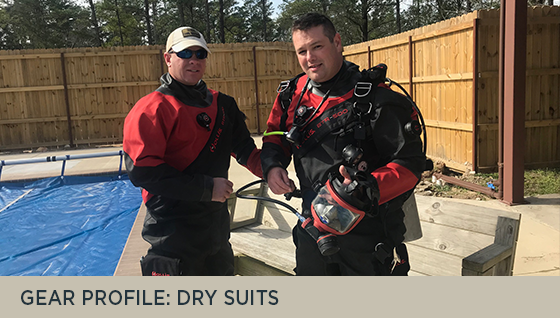 Gear Profile: Dry Suits
