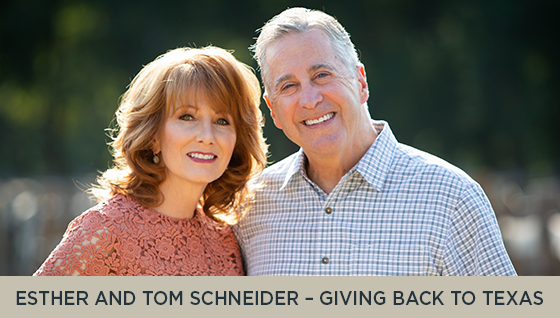 Esther and Tom Schneider