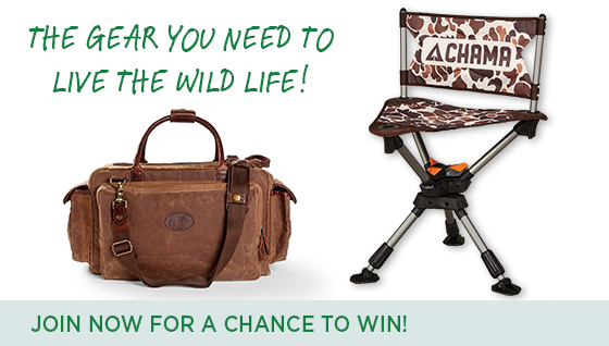 Story #2: Join Now and Win Gear to Live the Wild Life!