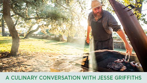 Story #3: A culinary conversation with Jesse Griffiths