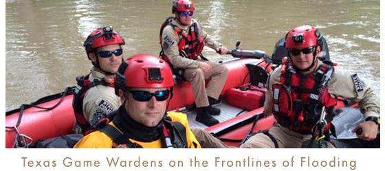 Texas Game Wardens on the Frontline of Flooding