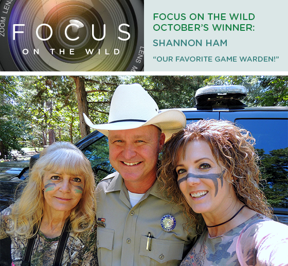 Focus on the Wild: October Winner