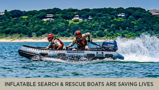 Inflatable Search and Rescue Boats are Saving Lives in Texas