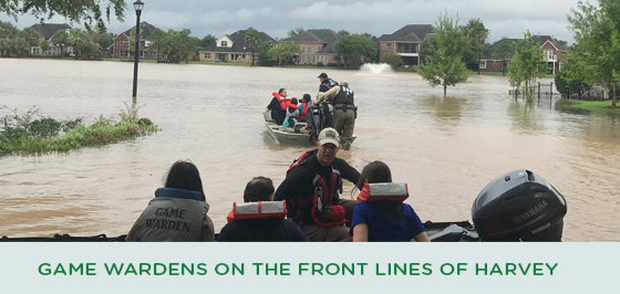 Story #1: Game Wardens and Hurricane Harvey