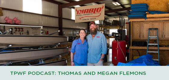 Story #2: TPWF Podcast: Thomas and Megan Flemons