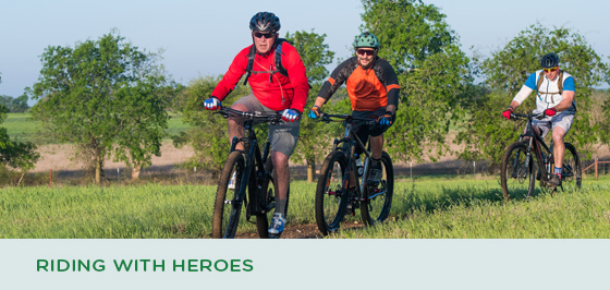 Story #1: Riding with Heroes