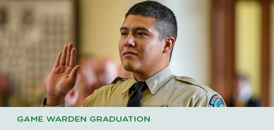 Story #3: Game Warden Graduation