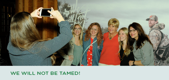 Story #3: We Will Not Be Tamed!