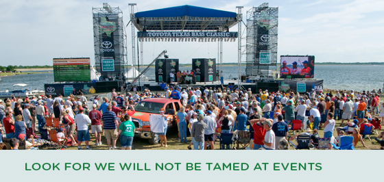 Story #4: Look for We Will Not Be Tamed at Events