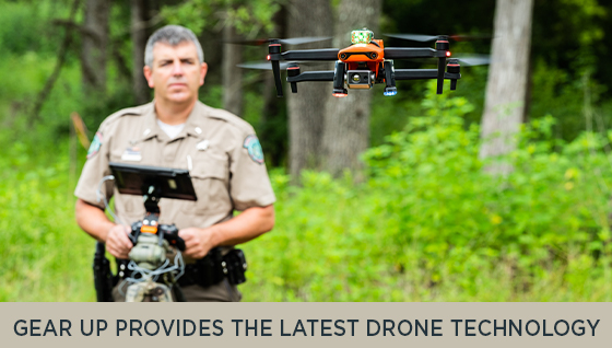 Gear Up Provides the Latest Drone Technology for Texas Game Wardens