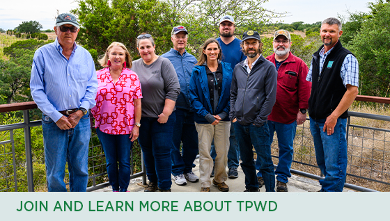 Story #2: Join and Learn More about TPWD