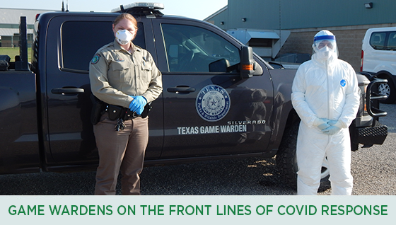 Story #2: Texas Game Wardens on the Front Lines of COVID Response