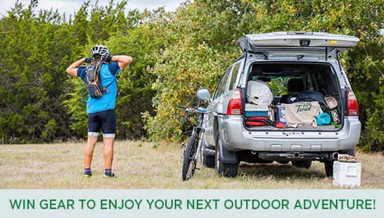 Story #2: Win everything you need to enjoy your next outdoor adventure!