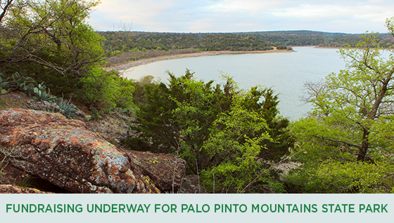Story #2: Fundraising Underway for Palo Pinto Mountains State Park