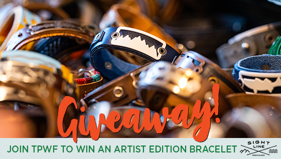 Story #2: Join TPWF and Win an Artist Edition Sight Line Provisions Bracelet