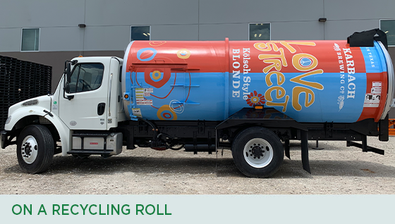 Story #3: On a Recycling Roll