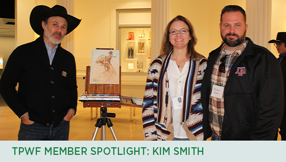 Story #3: TPWF Member Spotlight: Kim Smith