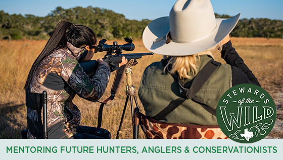 Story #4: Mentoring Future Hunters, Anglers & Conservationists