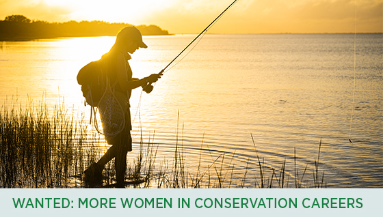 Story #3: Wanted: More Women in Conservation Careers