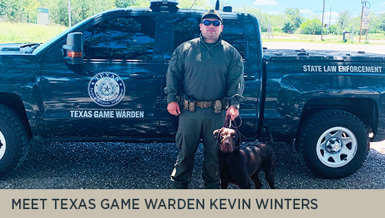Meet Texas Game Warden Kevin Winters