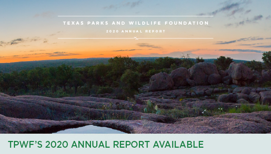 Story #4: TPWF's 2020 Annual Report Available