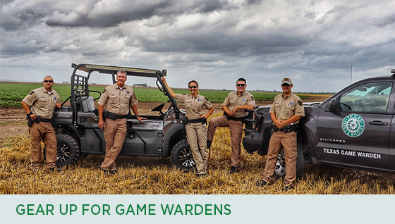 Story #4: Gear Up for Game Wardens