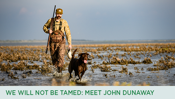 Story #4: We Will Not Be Tamed: Meet John Dunaway