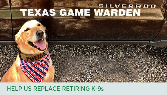 Story #4: Help us Replace Retiring K-9s