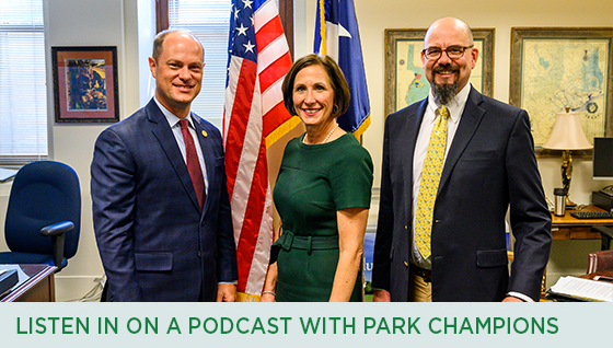 Story #4: Listen in on a Podcast with Park Champions