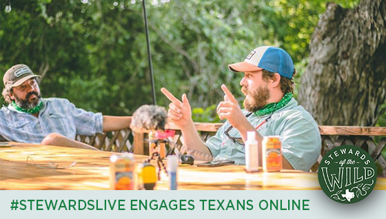 Story #4: #StewardsLive Engages Texans Online