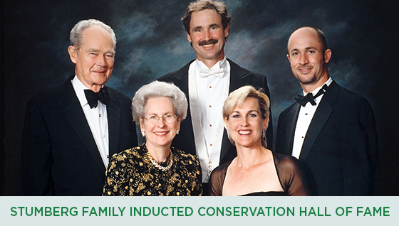 Story #4: Stumberg Family Inducted into Texas Conservation Hall of Fame