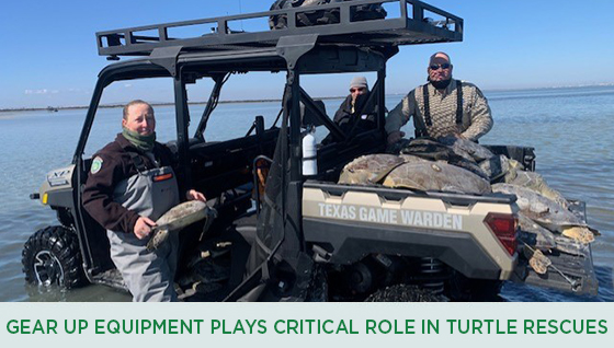 Story #4: Gear Up for Game Wardens Equipment Plays Critical Role in Turtle Rescues