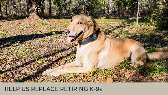 Help us Replace Retiring K-9s