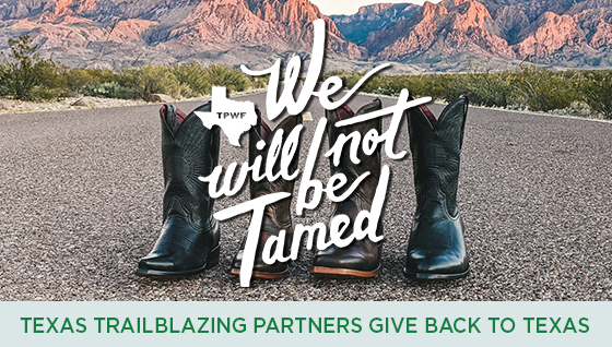 Story #5: Texas Trailblazing Partners Give Back to Texas