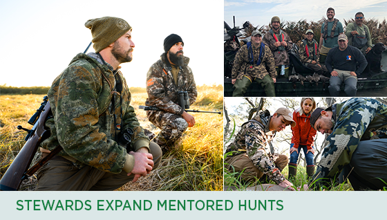 Story #5: Stewards Expand Mentored Hunts