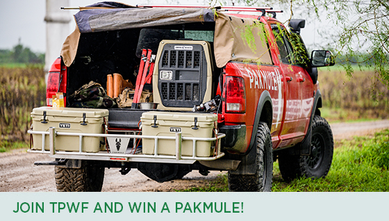 Story #5: Join TPWF and Win a PAKMULE!
