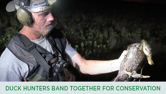 Story #6: Duck Hunters Band Together for Duck Conservation