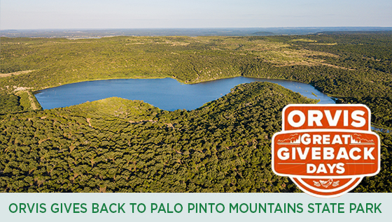 Story #6: Orvis Gives Back to Palo Pinto Mountains State Park