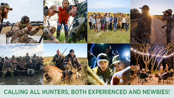 Story #6: Calling all Hunters, both Experienced and Newbies!