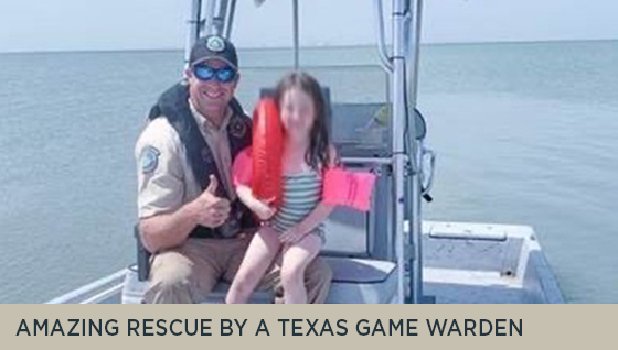 Amazing Rescue by a Texas Game Warden