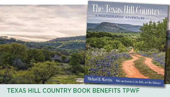 Story #7: Texas Hill Country Book Benefits TPWF