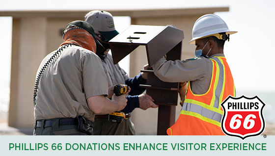 Story #7: Phillips 66 Donations Enhance Visitor Experience at Goose Island State Park