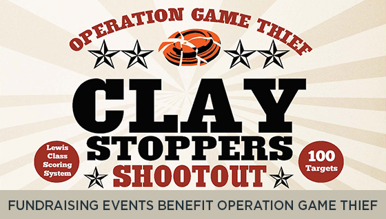 Fundraising Events Benefit Operation Game Thief