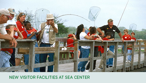 New visitor facilities at Sea Center