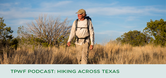 Texas Parks and Wildlife Podcast: Hiking across Texas