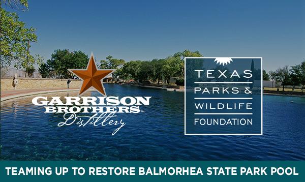 Garrison Brothers Balmorhea Partnership