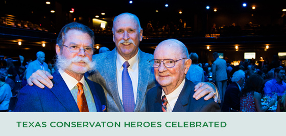 Texas Conservation Hall of Fame 2017 Honorees